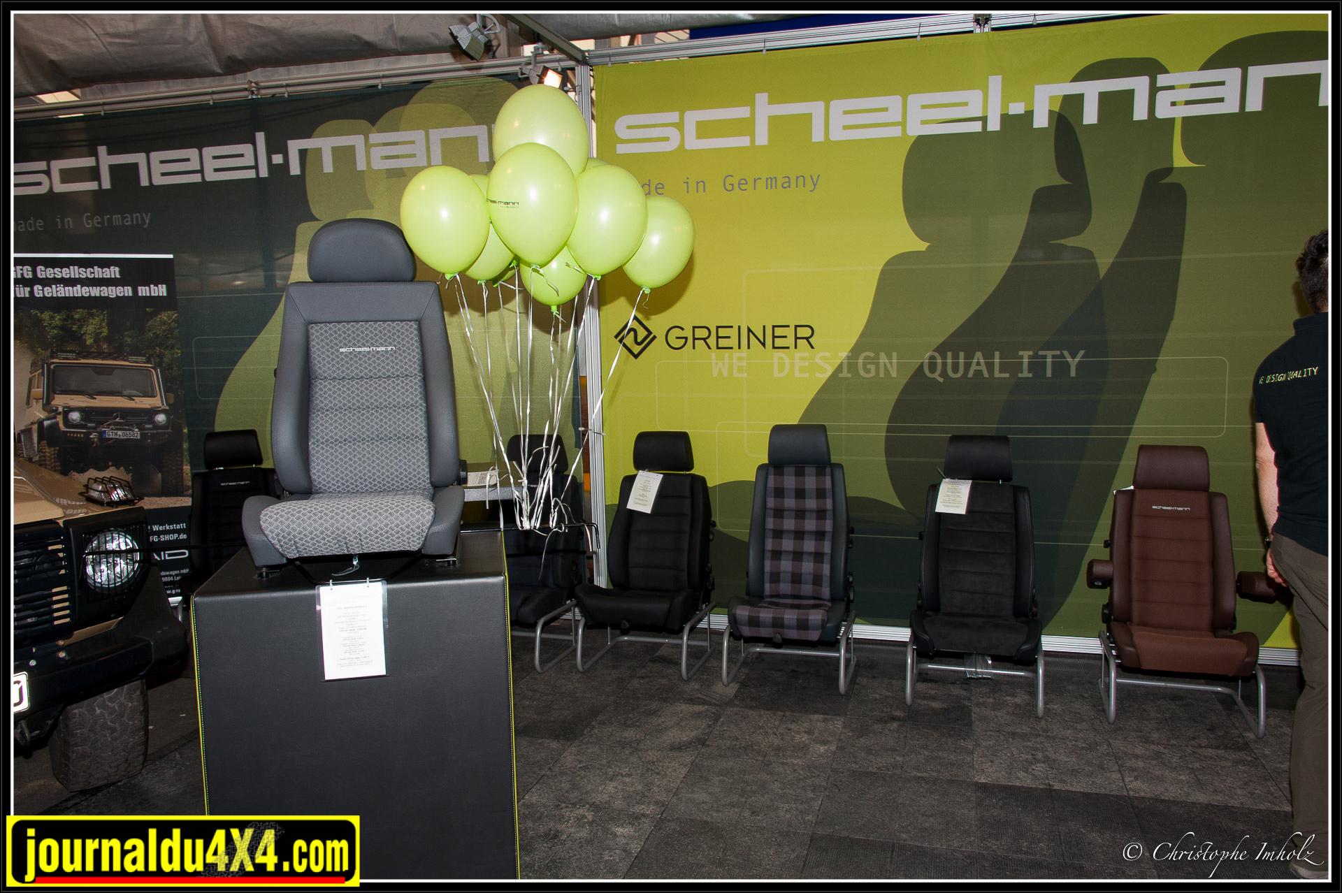 Scheel-man, spécialiste des sièges en deuxième monte