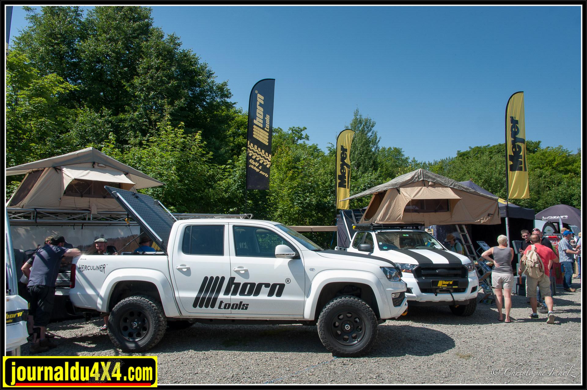 Horn propose des outils, des tentes de toit et différents produits pour équiper votre véhicule