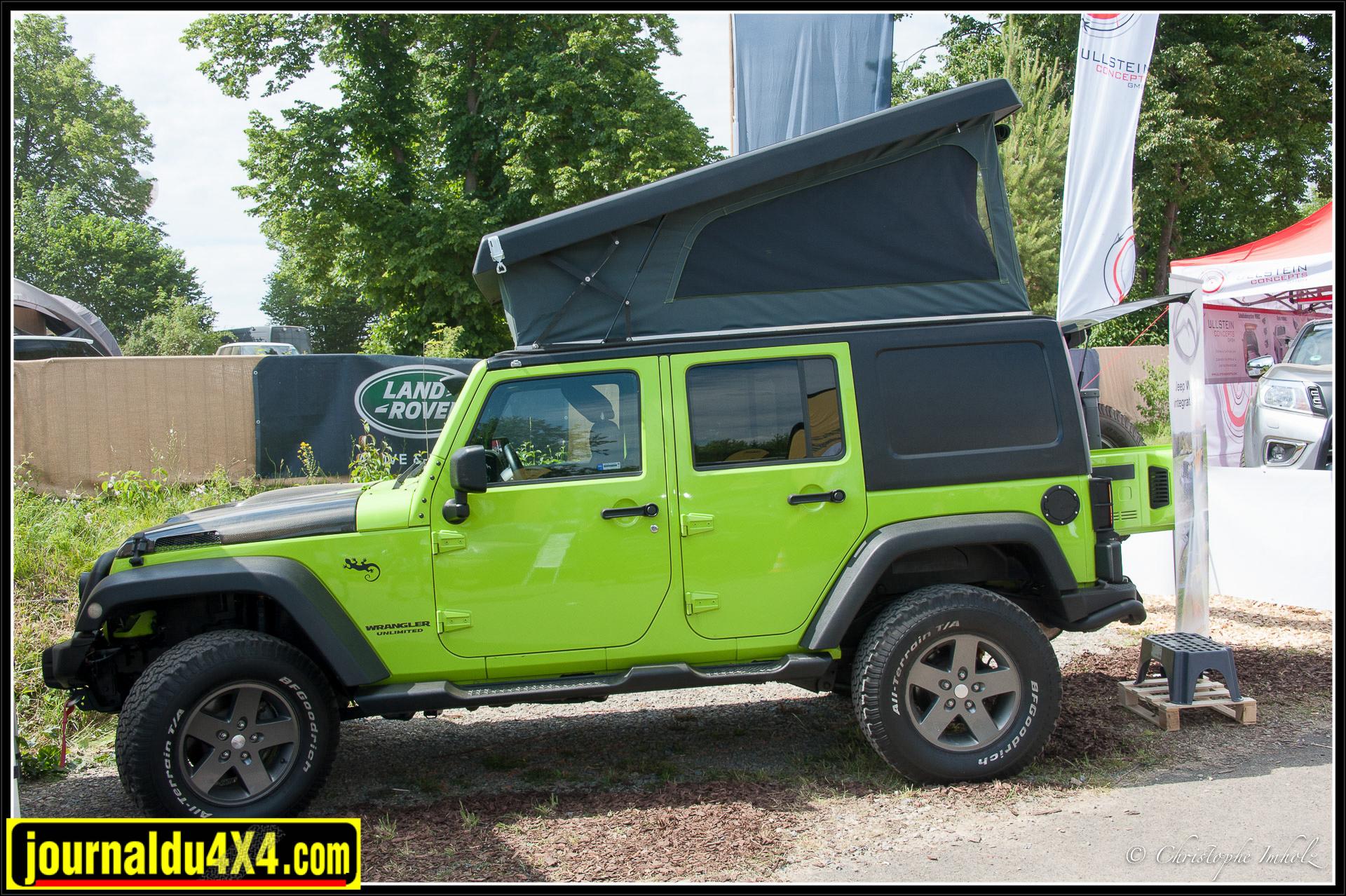 Jeep à toit relevable