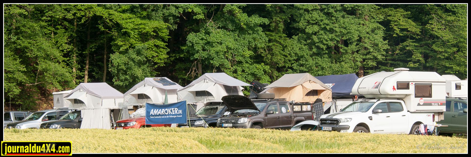 Le club Amarok a regroupé de nombreux véhicules