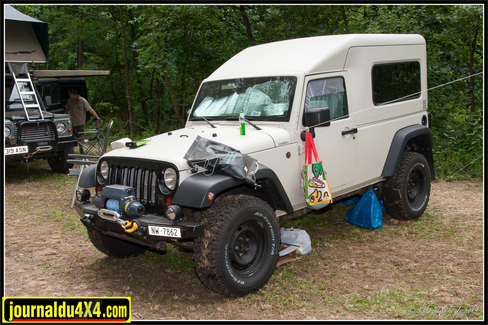 Carrossage original pour une Jeep