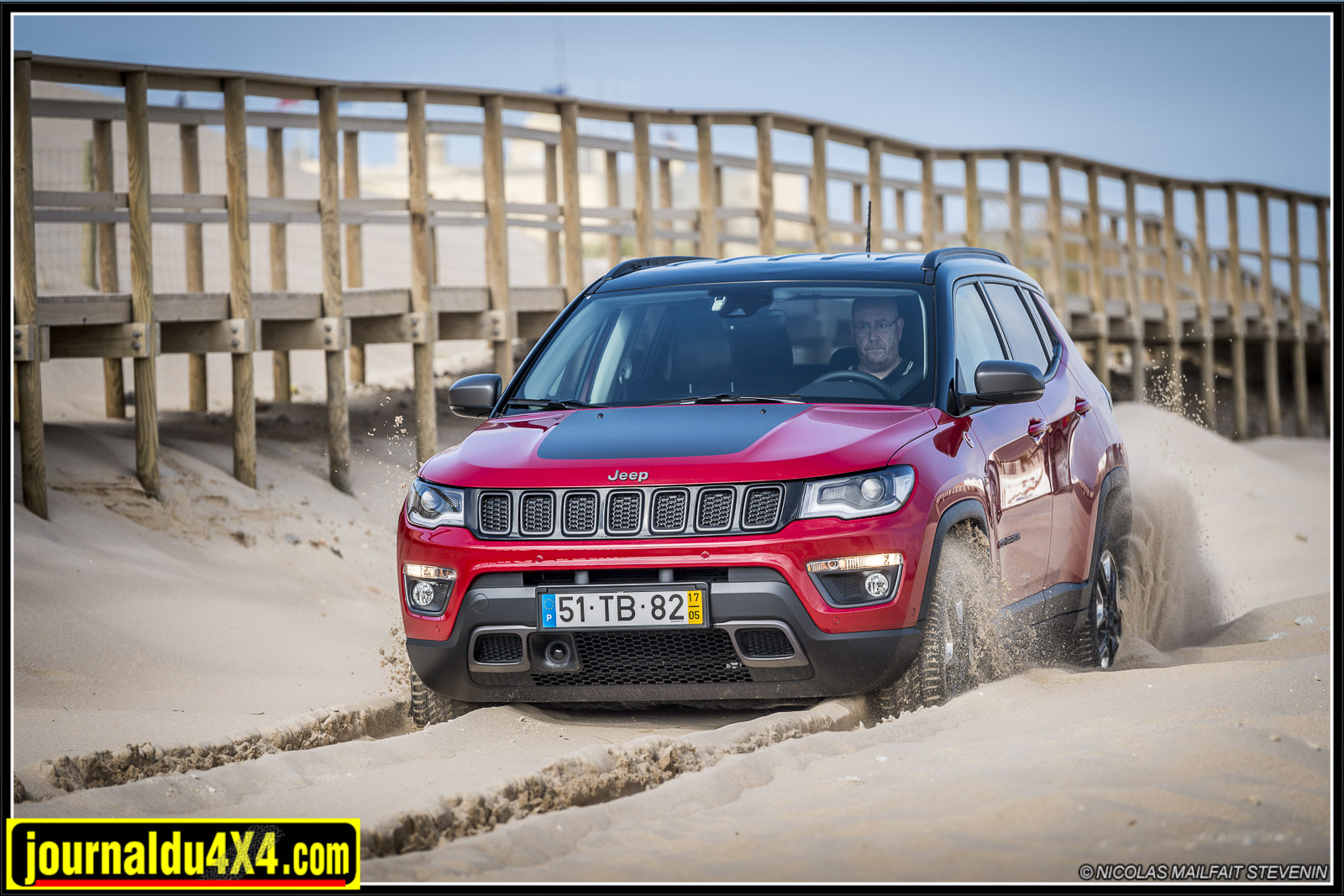 Jeep Compass Trailhawk 4×4 2017 2.0l 170 ch
