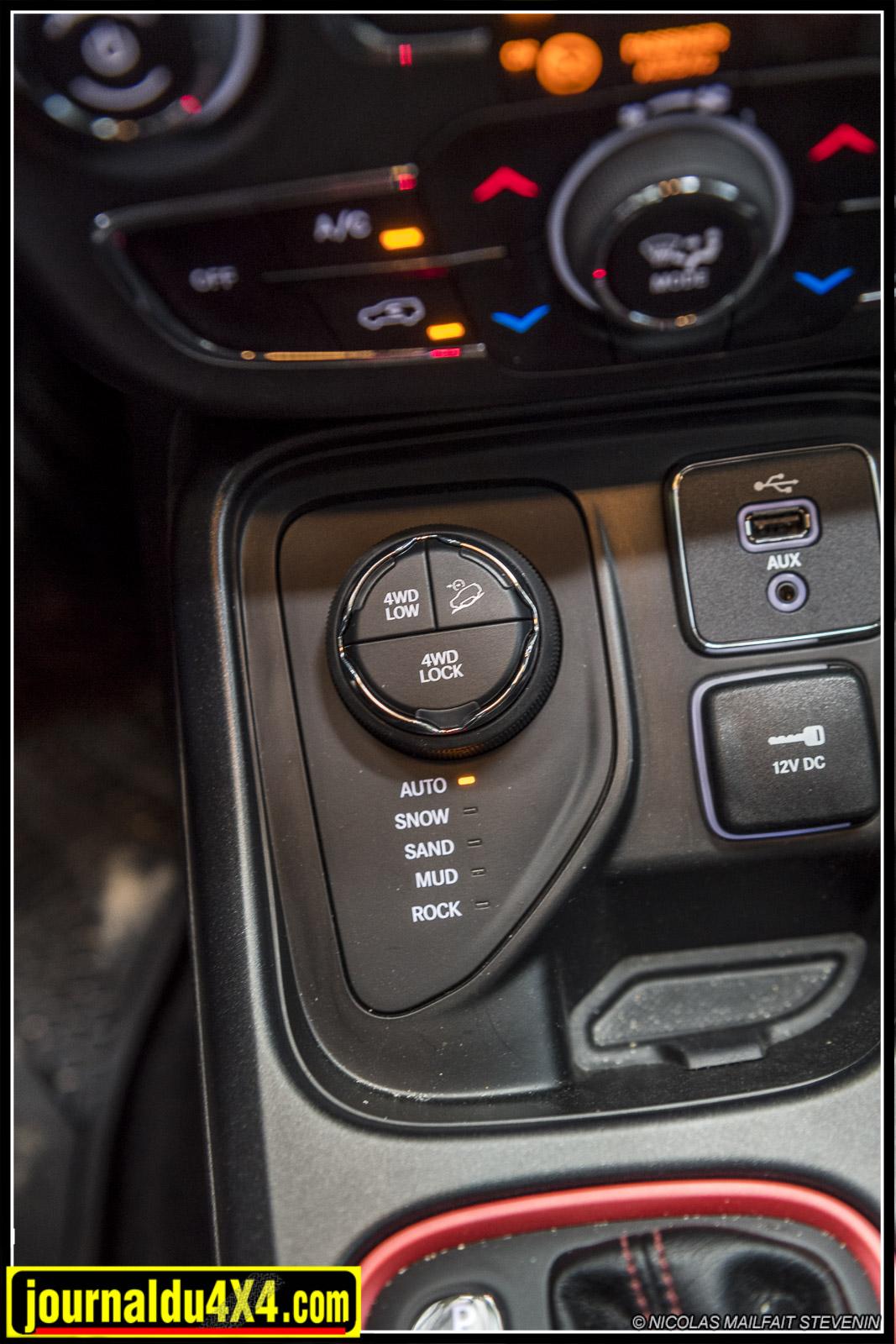 système de gestion de motricité  Jeep Active Drive Low 4x4