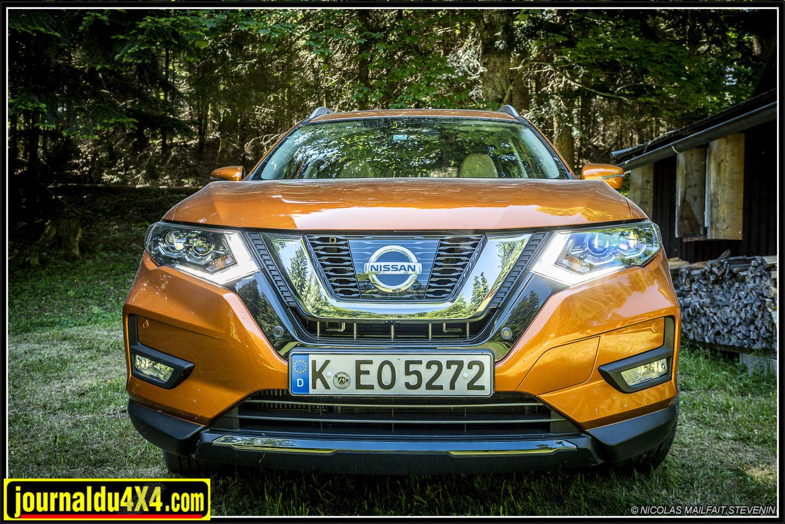 Nissan Xtrail 4×4 2017, nouveau design