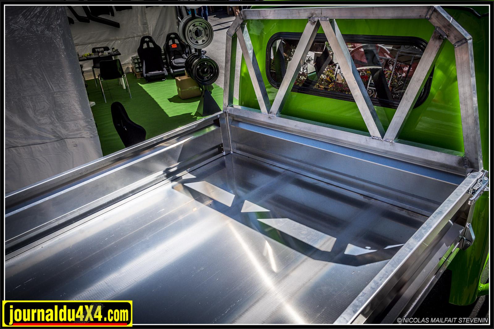 Super boulot et quelle finition pour cette benne en aluminium !