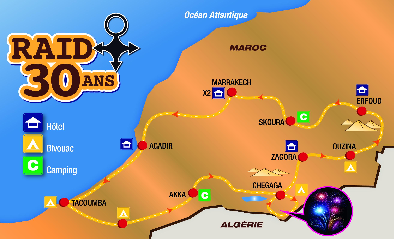 Raid Maroc 30 ans de Sudexpe