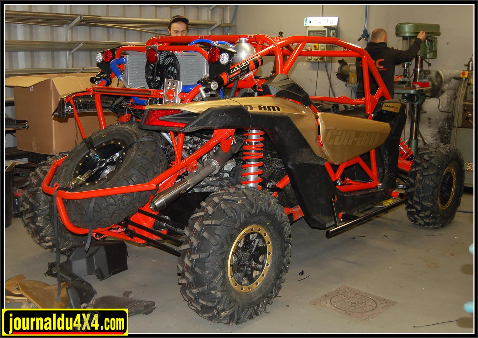 Arceau FFSA can-am maverick x3