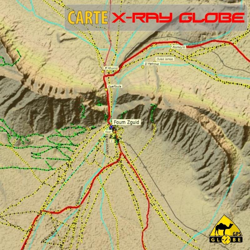 cartes X-Ray Globe GPS