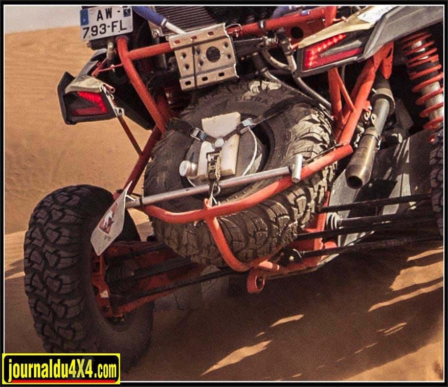 Support roue de secours arrière RR Concept