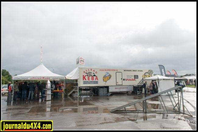 Allrad Keba spécialiste Toyota en Allemagne est toujours présent: organise des ateliers où il y a foule.