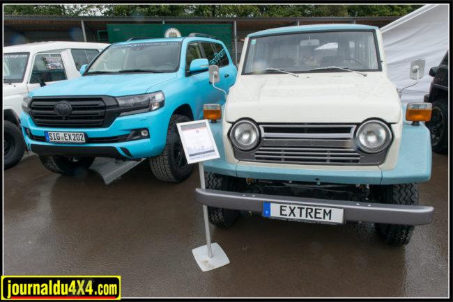 39 années séparent ces deux véhicules