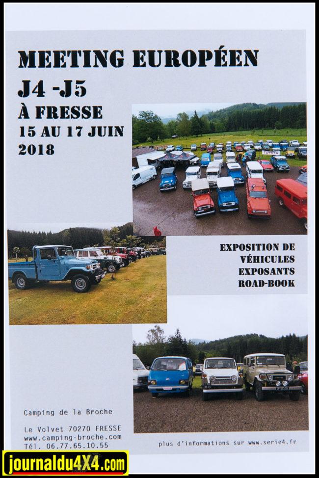 Ils annoncent d'ailleurs leur prochain rendez-vous en juin 2018 à Fresse en Haute-Saône