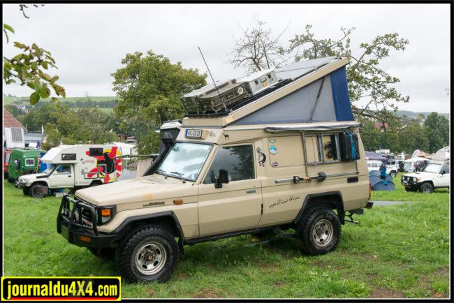 Le série 7 à toit relevable est également une bonne solution pour voyager,