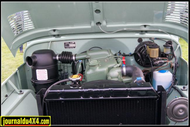 Le moteur est un Mercedes