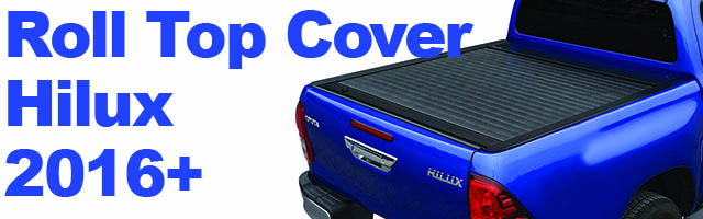 TOYOTA HILUX 2016+ ROLL TOP COVER