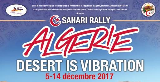 Rallye d'Algérie  – SAHARI RALLY – La Vibration du désert