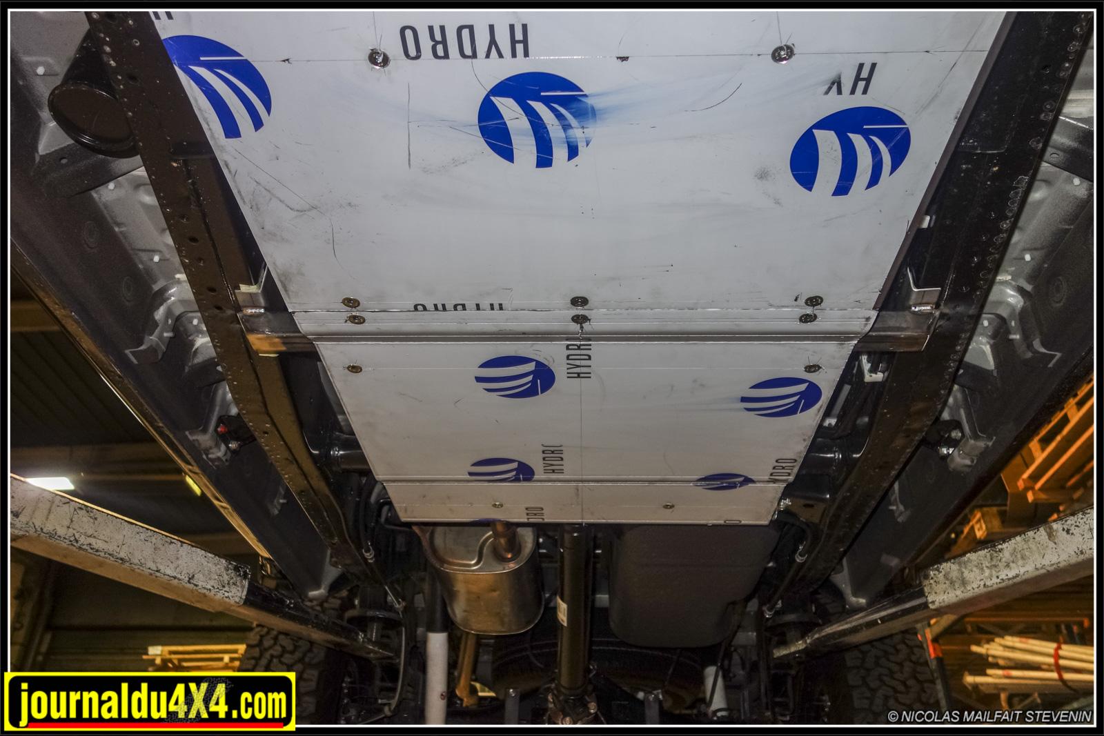 blindage moteur et boîte de vitesse et boîte de transfert pour pickup (Hilux, Navara, Fullback, Dmax, Alaskan, Amarok, etc)
