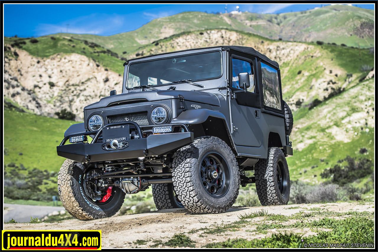 Visite chez ICON 4×4 en Californie, créateur de Land Cruiser FJ et Ford Bronco d'exception