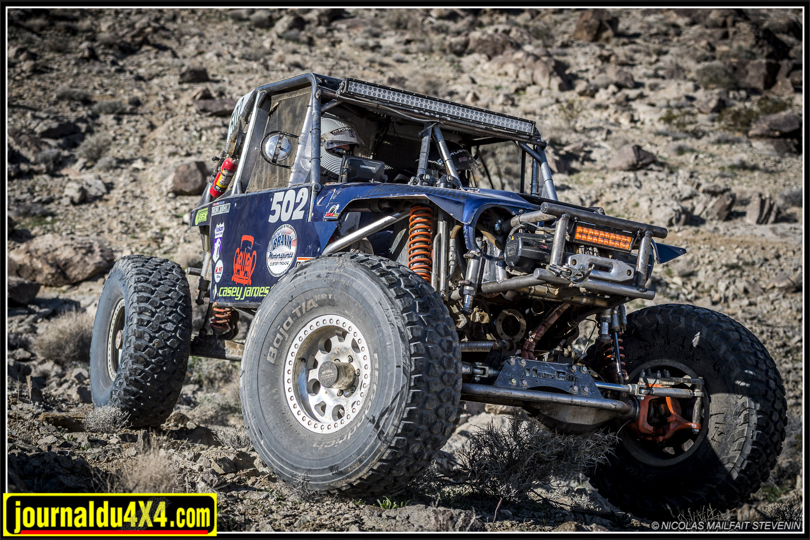 Une histoire au King Of the Hammers : The Rental
