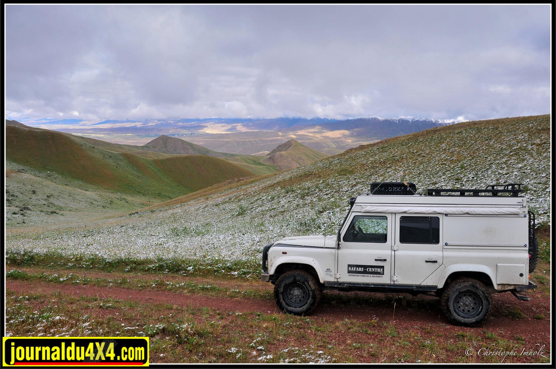 Voyage au Kirghizstan en 4×4