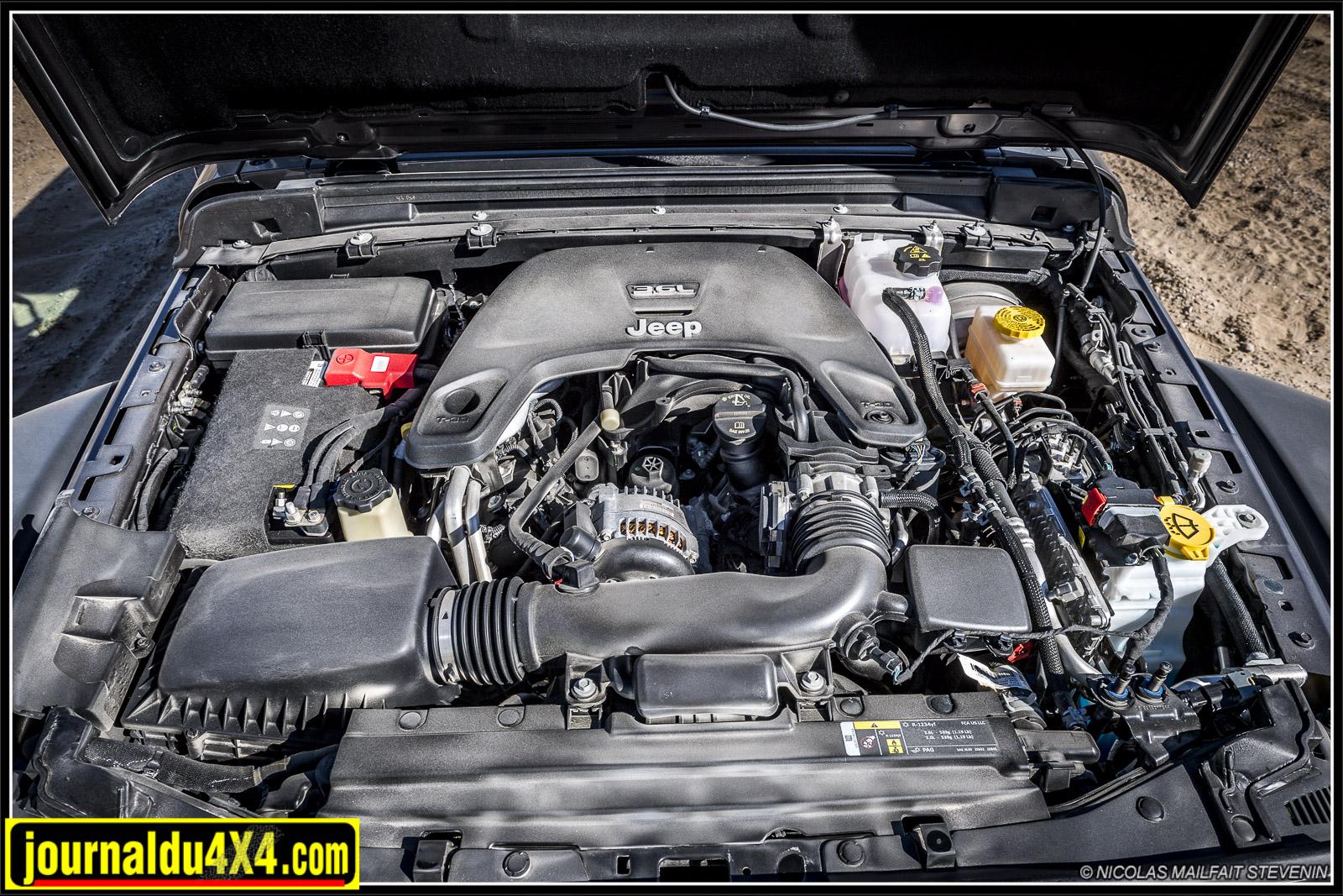 moteur jeep jl