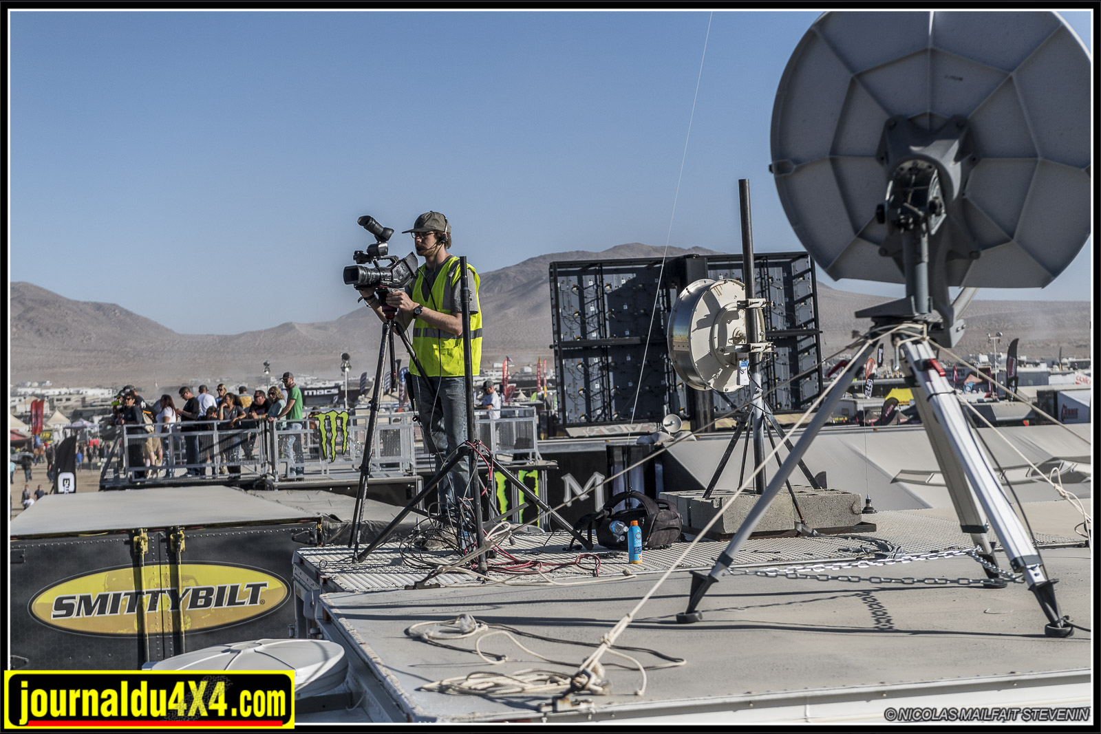 Les coulisses du Live Vidéo au King Of the Hammers