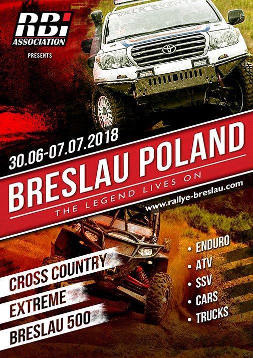 Rallye Breslau Pologne – Breslau 500 2018