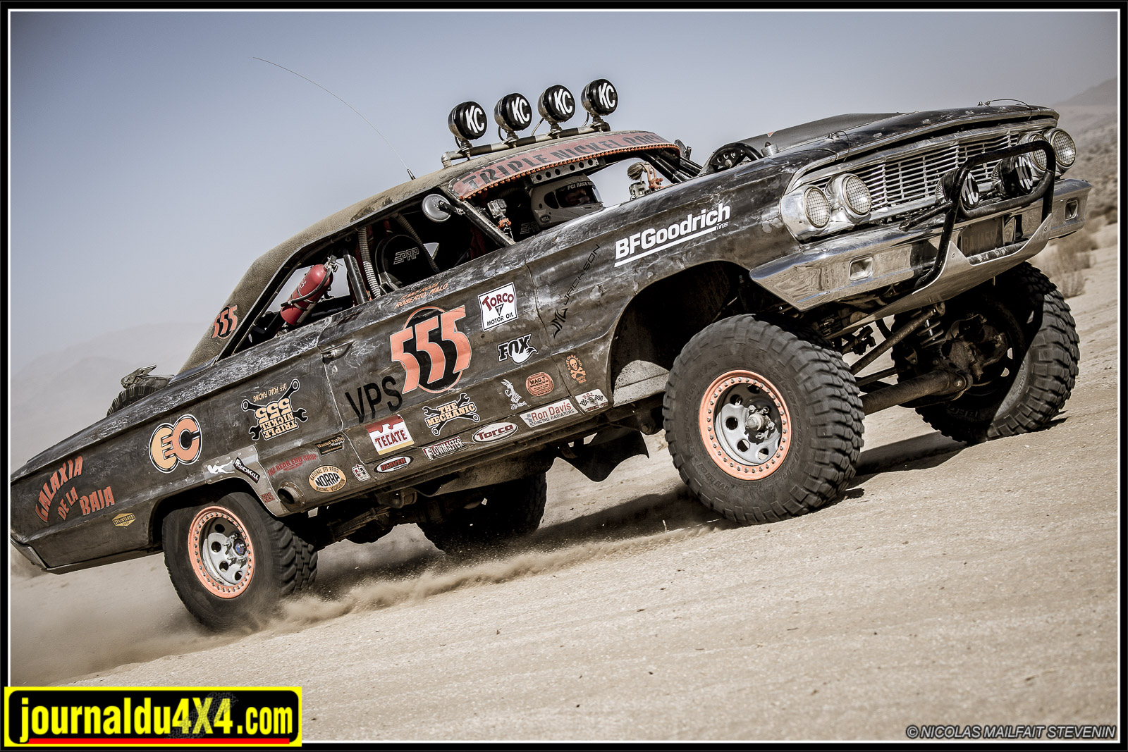Ford Galaxie Baja de 1964 Triple Nickel Racing