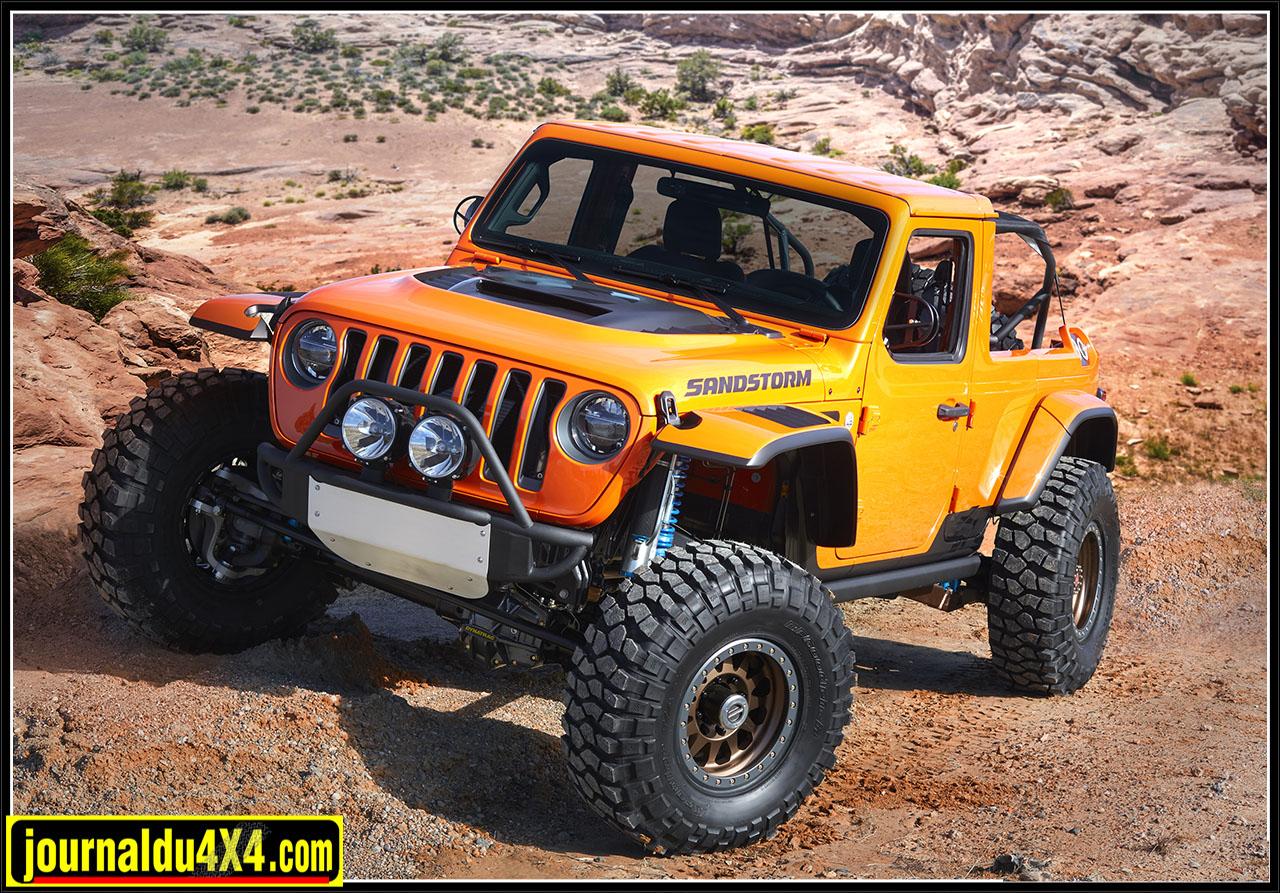 Jeep mopar Concept pour l'Easter Jeep Safari 2018