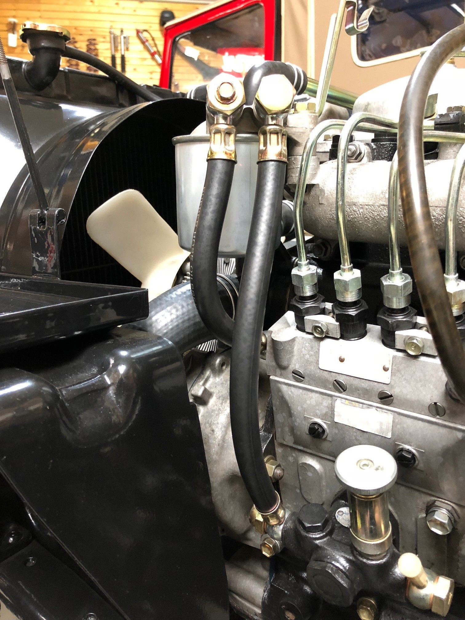 Durite de carburant Toyota série 4