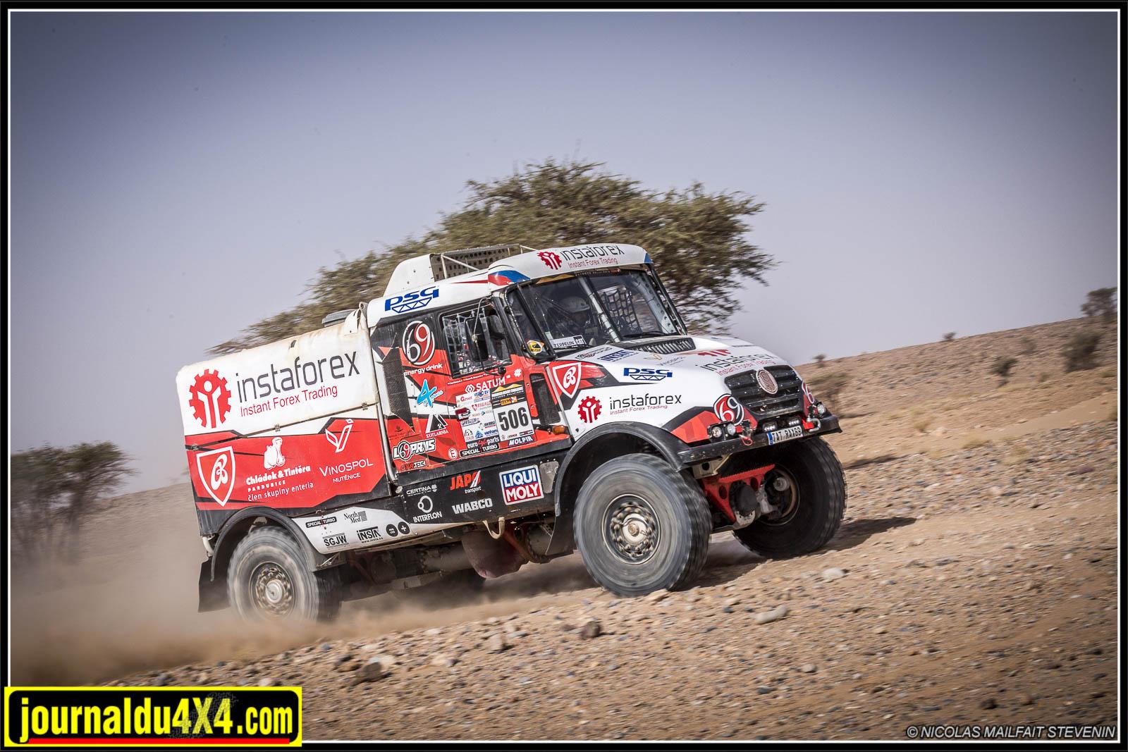 Touzounine – La Dune de Juif 3ème étape du Morocco Desert Challenge 2018