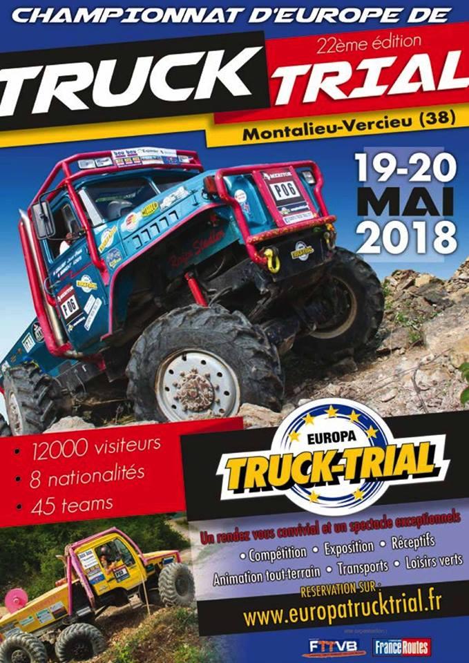 22ème Europa Truck Trial 19-20 mai 2018