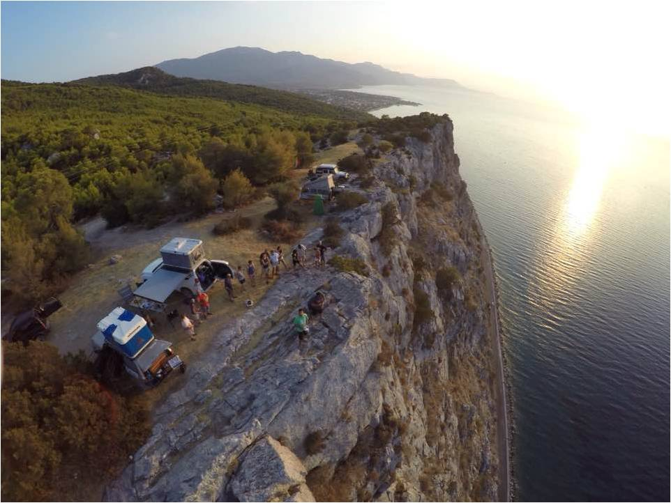 Les rivages de l'Adriatique avec Amada