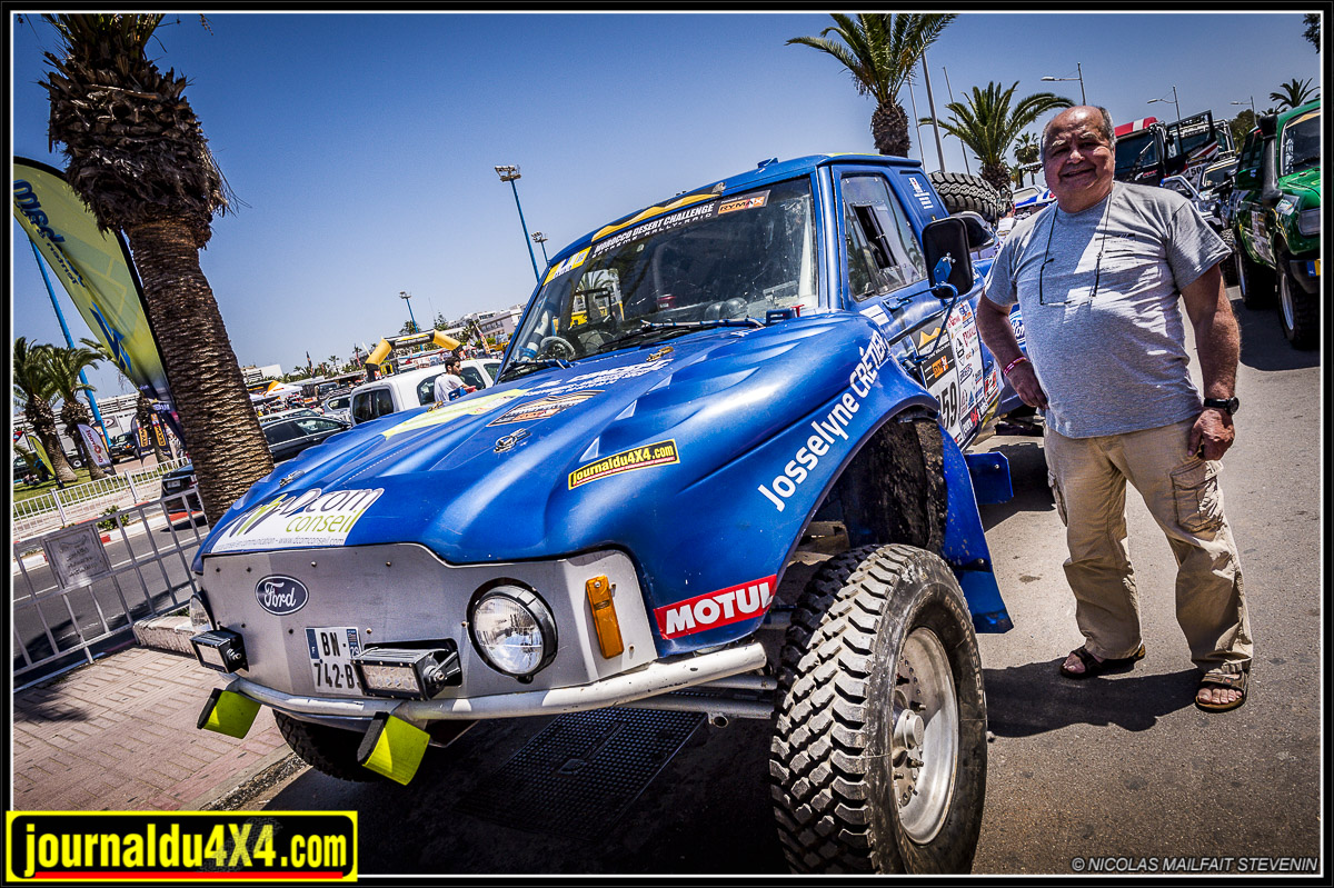 Truggy Mecapark, un buggy de rallye à moteur Porsche