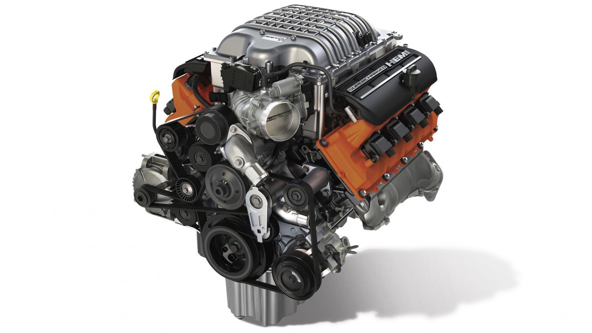 moteur hellcat grand cherokee trackhawk v8 supercharged-