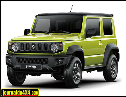 nouveau jimny suzuki 2018. Black Bedroom Furniture Sets. Home Design Ideas