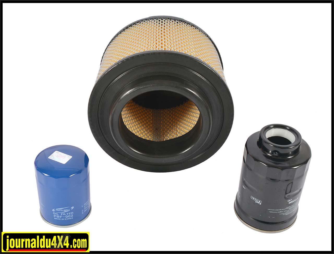 Kits filtration Euro 4×4