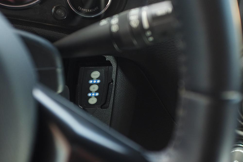 PedalBox Jeep : le boîtier de contrôle