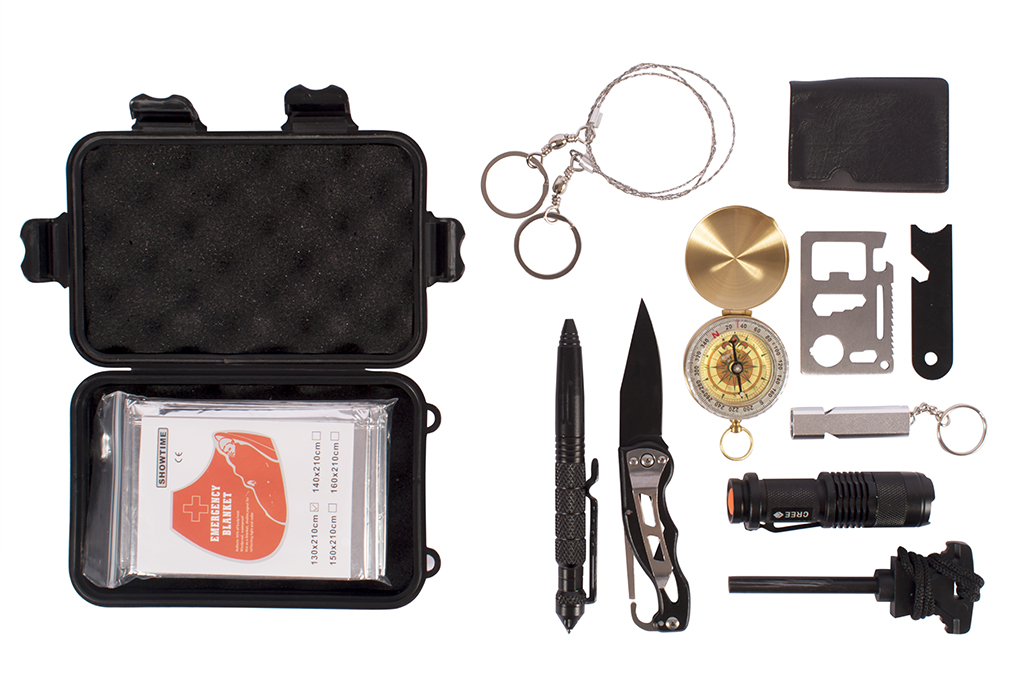 Un kit de survie bien pratique à mettre dans son 4×4