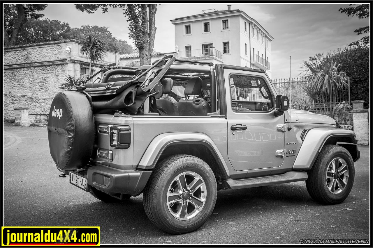 Essai Jeep JL 2.2 l diesel 200ch 2019