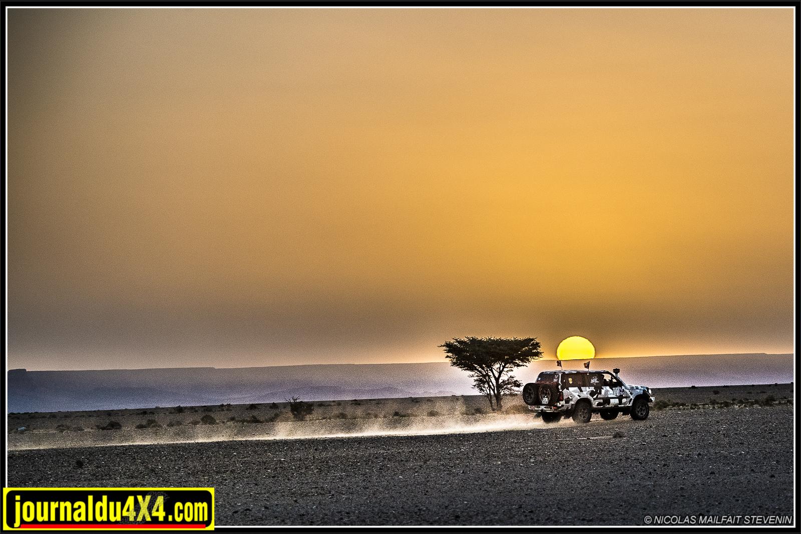 Rouler au petit matin alors que le soleil se lève et dans un tel décor, ça ne vous fait pas envie ?