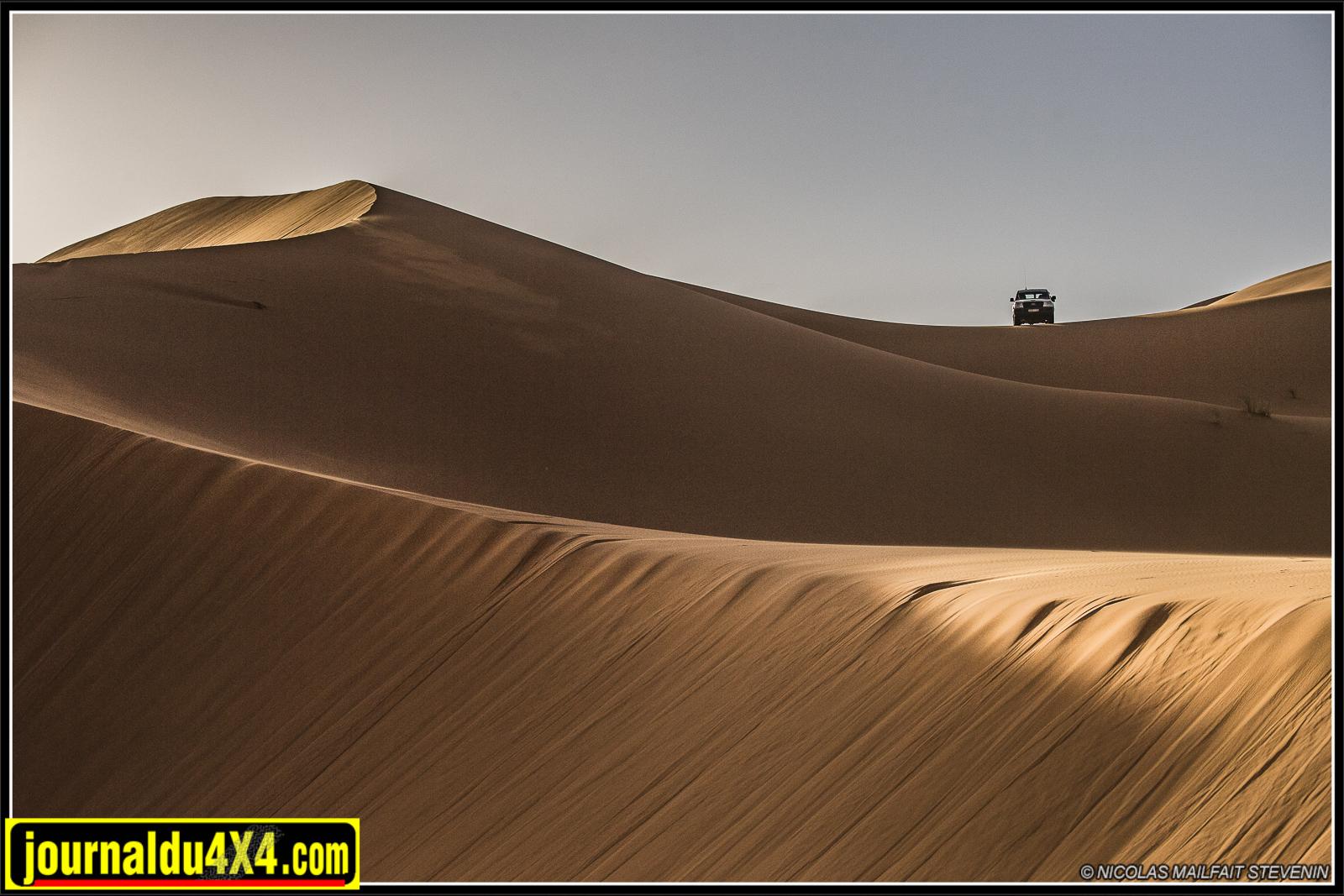 Merci Christophe de nous avoir emmené au sommet de dunes