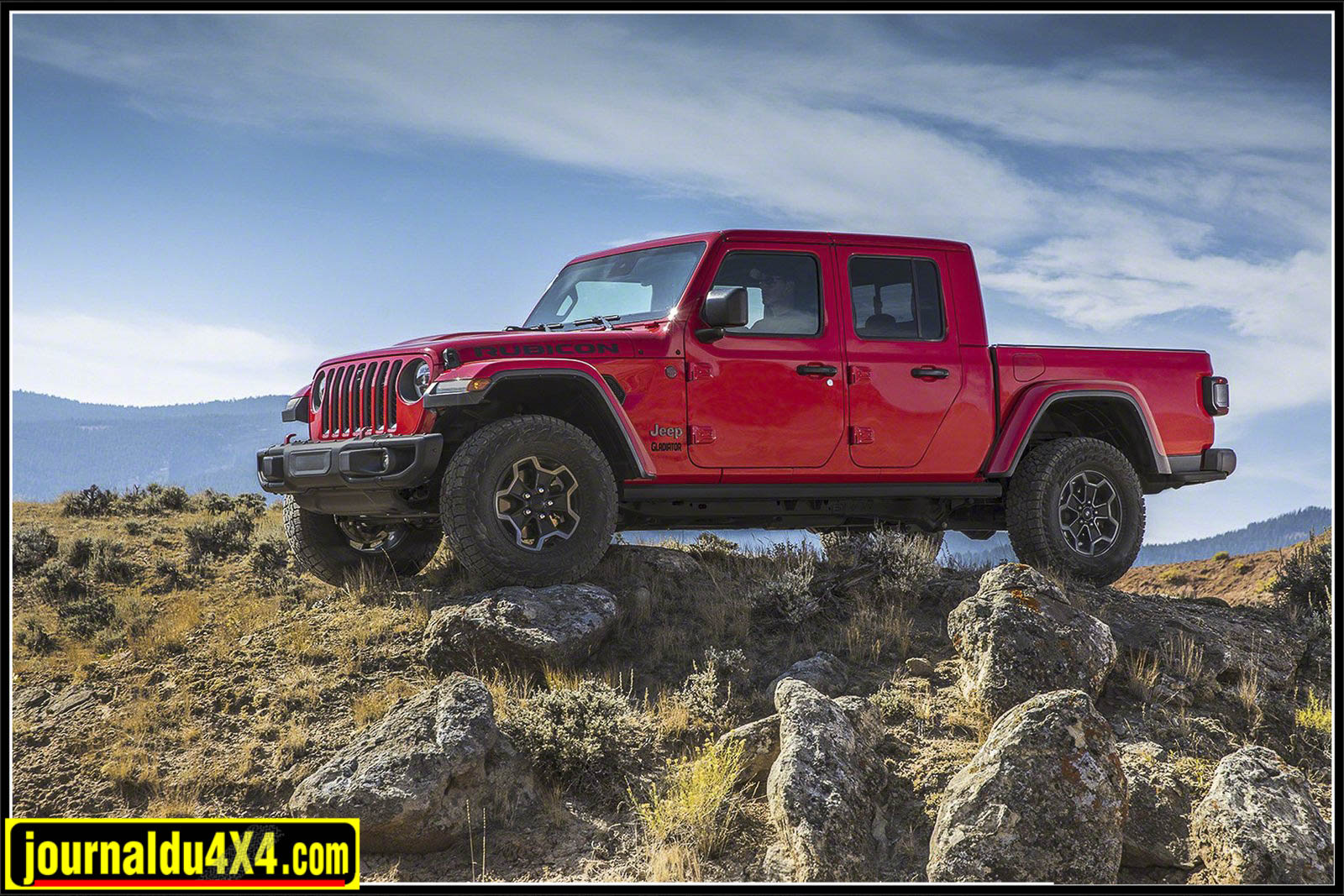 Jeep Wrangler Pickup Gladiator