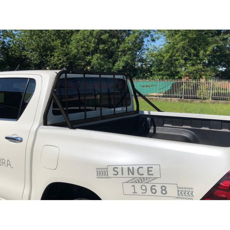 Grille de protection de vitre arrière Toyota Hilux Revo
