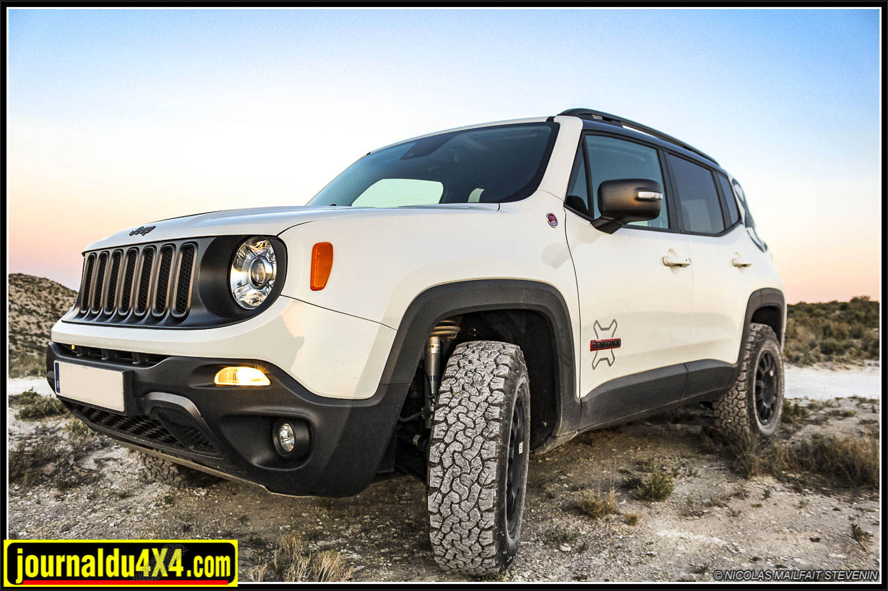 Kit rehausse suspension Jeep Renegade