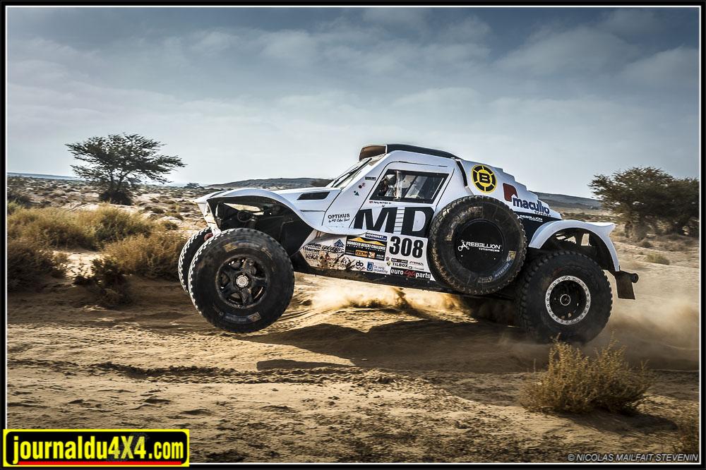 SMARA -ASSA : 375 KM Morocco Desert Challenge étape 3