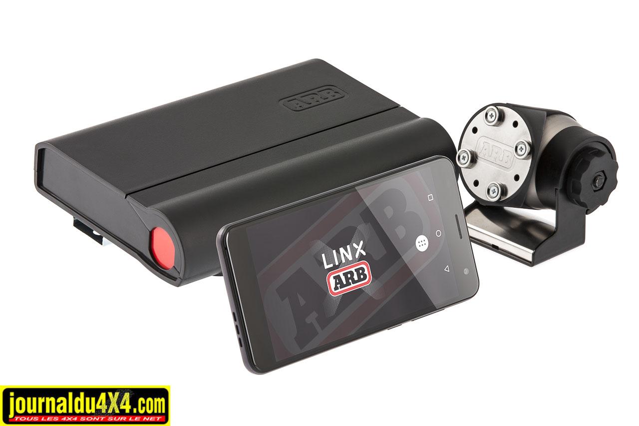 l'interface Linx permet de commander à distance plusieurs accessoires
