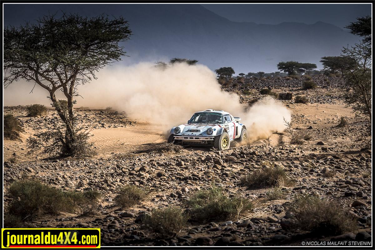 Porsche 4x4 911 au Morocco Desert Challenge 2019