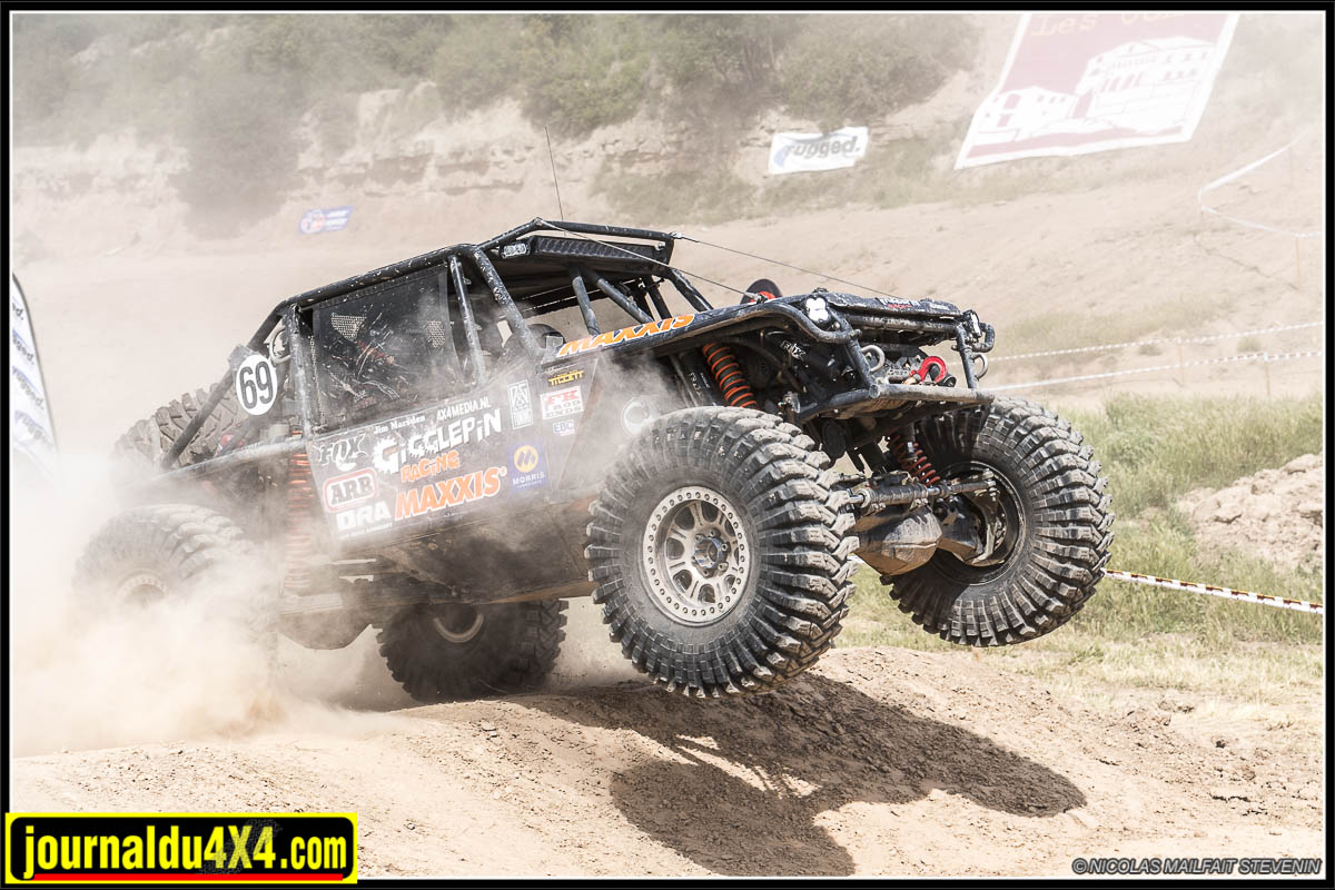 King Of Spain Ultra4 Les Comes 2019 : prologue