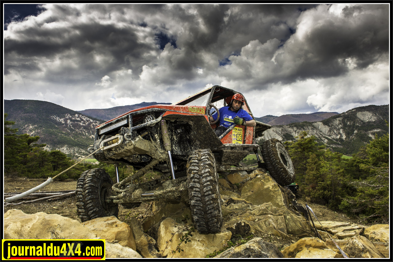 Cédric de Mudracer à l'Xtrem Challenge en 2012